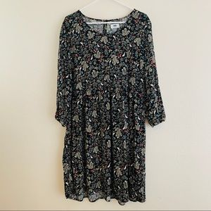Old Navy Shift Dress Sz XL Tall Rabbit Print